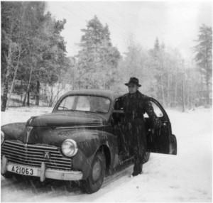 1950-tal på Riksrådsvägen.