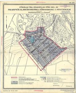 Pungpinan stadsplan 1926
